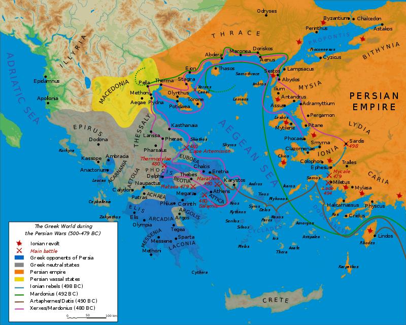 গ্রেকো-পারসিক যুদ্ধ