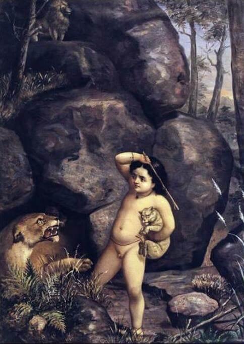 রাজা রবি ভার্মার শিল্পকর্মে ভরত
