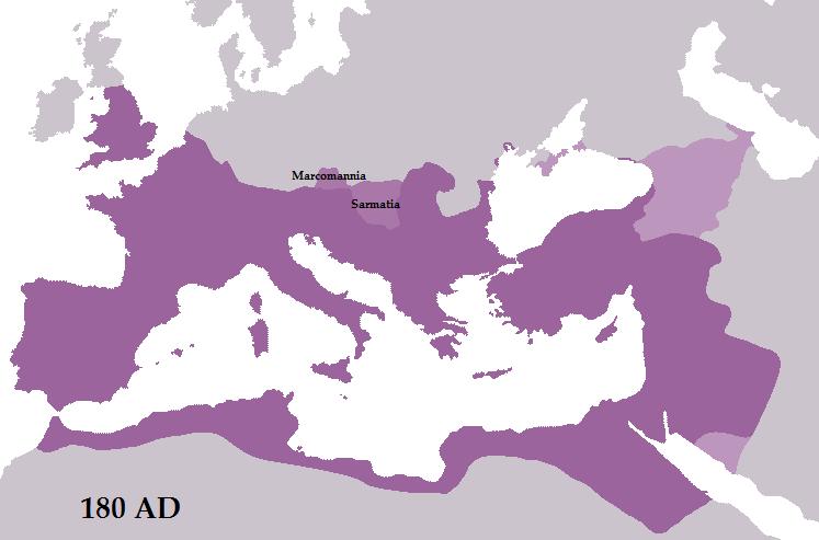 রোমক সাম্রাজ্য ১৮০