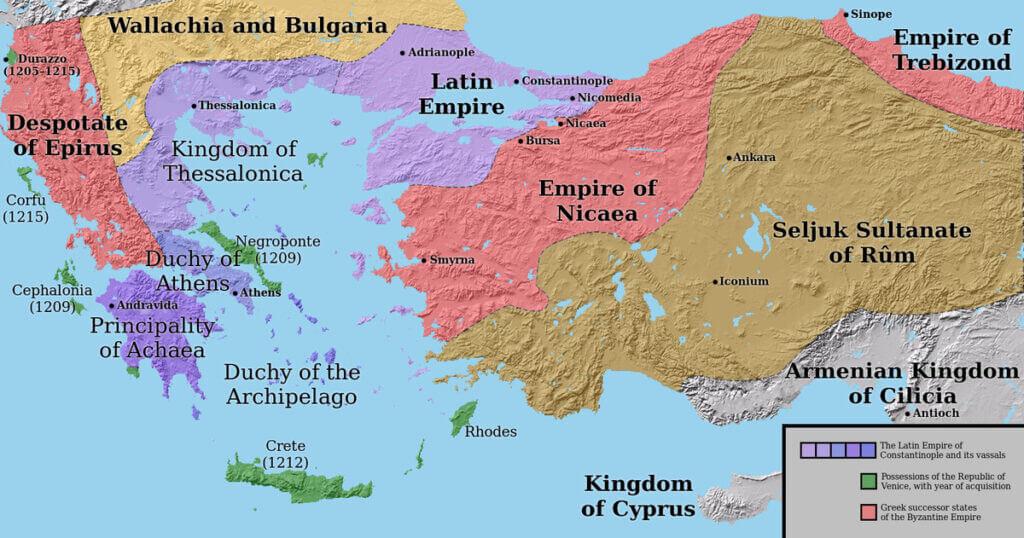 বাইজানটাইন-সাম্রাজ্য-১২০৪
